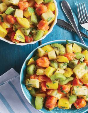 Spiced Fruit Salad