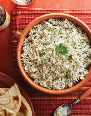 Coconut Basmati Rice with Cilantro