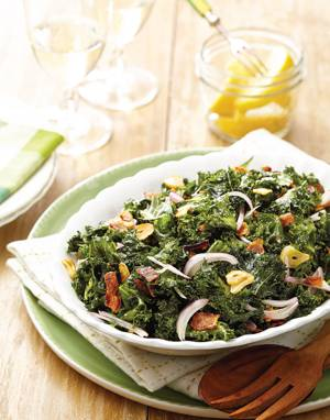 Kale Salad with Pancetta