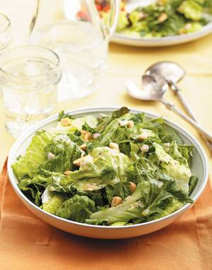 Citrus-Almond Salad with Herb Salad Greens
