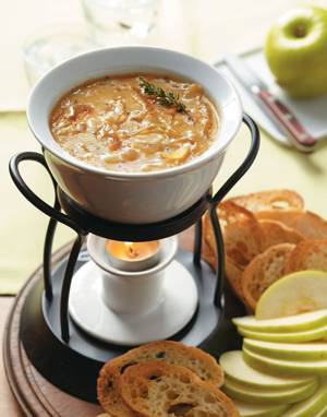 French Onion Fondue