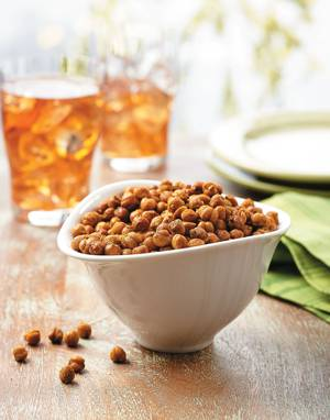 Curry-Roasted Chickpeas