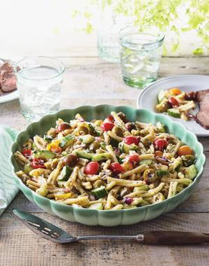 Italian Pasta Salad with Garlic-Oregano Vinaigrette