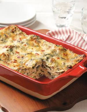 Boursin Chicken Lasagna