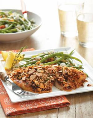 Almond-Crusted Fish with Smoked Paprika