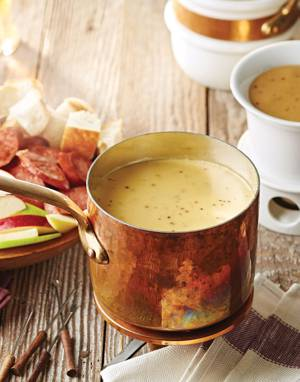 Belgian Beer-Cheese Fondue