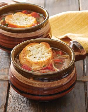 Mediterranean Onion Soup