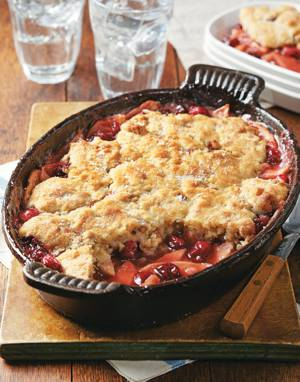 Apple & Cranberry Cobbler