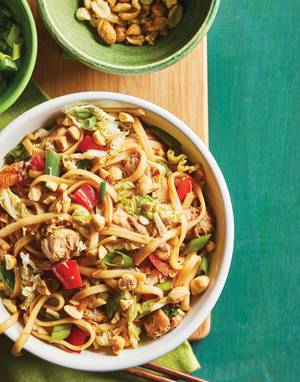 Turkey & Noodles Stir-Fry