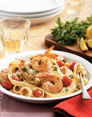 Shrimp & Scallop Fettuccine