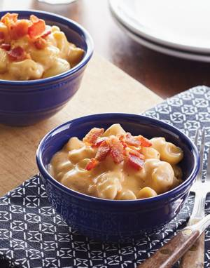 Classic Stove-Top Mac 'n Cheese with Bacon Bits