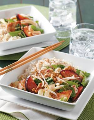 Plum & Chicken Stir-Fry