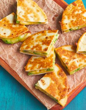 Avocado & Jalapeño Quesadillas