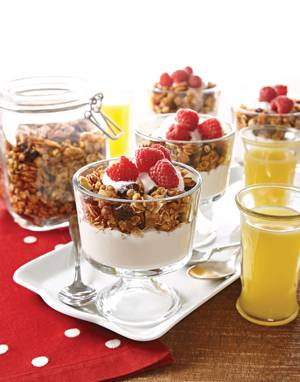 Cranberry-Orange Granola