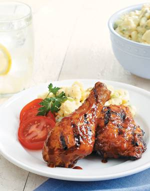 Root Beer Barbecue Chicken