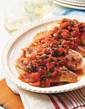 Roman-Style Chicken with Capers & Parsley