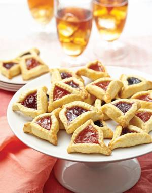 Cream Cheese Hamantaschen with fruit filling