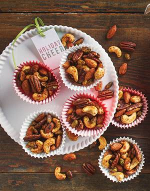 Savory Spiced Nuts